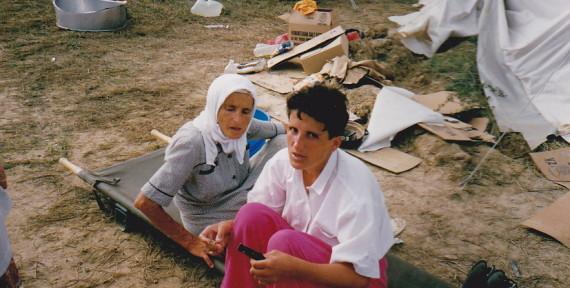 Srebrinca-refugees